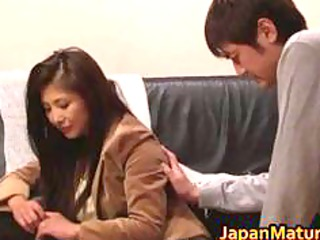 chisa kirishima asian mature babe gives