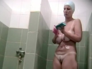 hidden voyeur spy camera older  milf spied inside