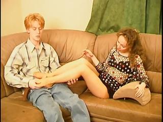 grownup leila and her foot slave