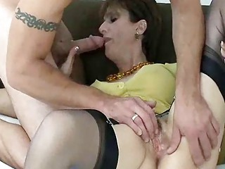 older  amp snags tattooed badass stud for a drill