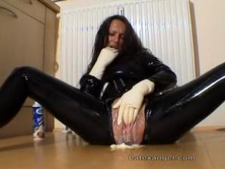 cougar young obsess latex milf extreme fingering