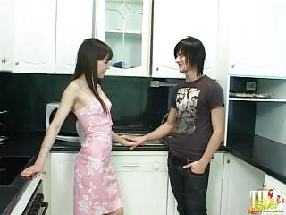 brother gangbangs get sister when milf at job