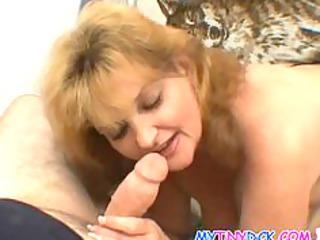 big tits mature babe cheats on her fucker