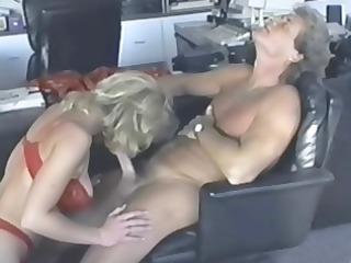naughty albino kc williams eats his rod and