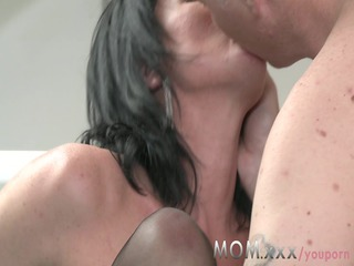 woman cougar mature babe takes charge of her guy