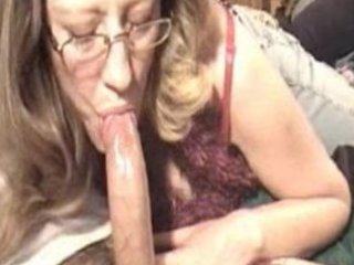 mature babe dick sucking pt 1