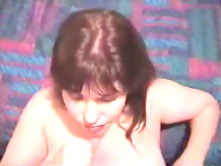 cougar lady massages penis