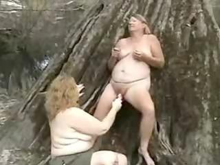 elderly pervert homosexual women having pleasure