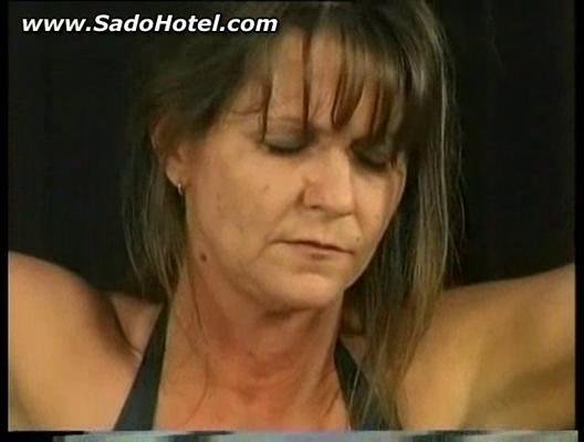 bdsm session with awesome cougar slave part 2
