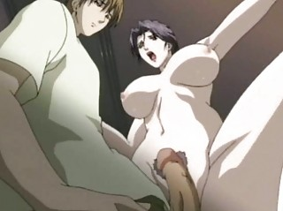 anime woman licking a libido and drinking cum