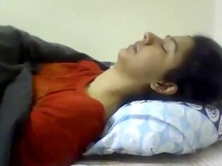 hot bangladeshi wife sabina drilled herself