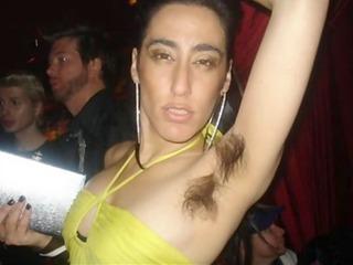 bushy armpits amateur celebration part-1