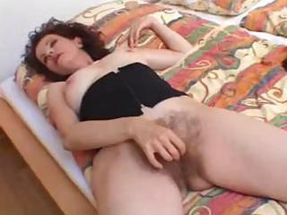 furry mother worships brown dick