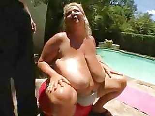bbw mature babe torpedoed outside