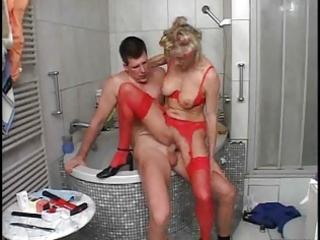 mature babe and the plumber