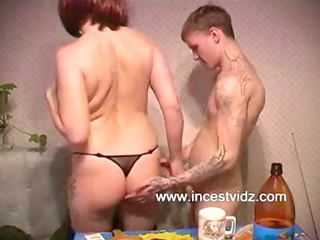 mature milf and her son