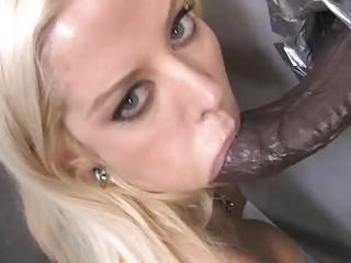 lady gloryhole dick sucking