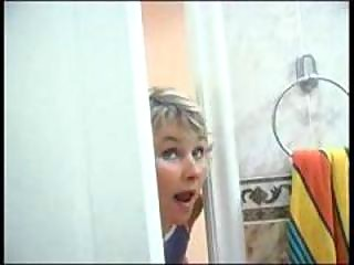 lady spying on son drive he was inside bathroom