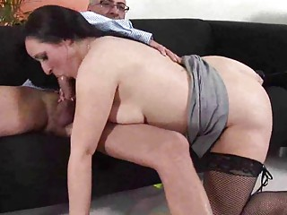 desperate european lady obtaining shagged