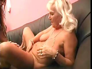 granny enjoys fresher prostitute