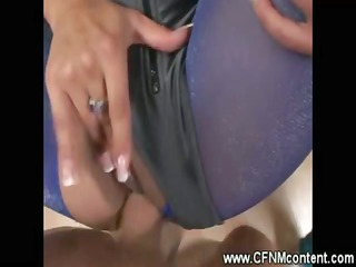 cfnm milf sucks and pierced by difficult dick
