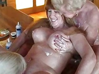cougar girlgirlgirl food fight