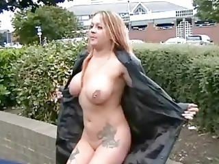 busty milf ginas openair nudity and american
