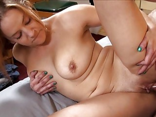 super tattooed momma with huge bosom licks
