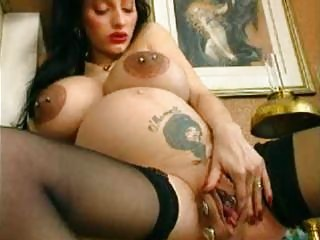 bizarre young pregnant mother horny kitty spreads