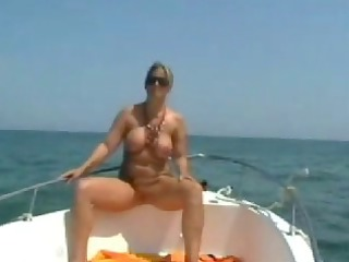 nude stepmom at the boat