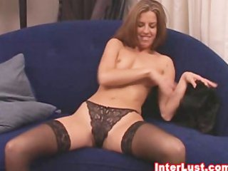 extremely impressive woman in wonderful brief and