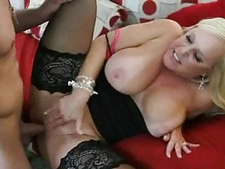 plump chested pale momma into nylons obtains