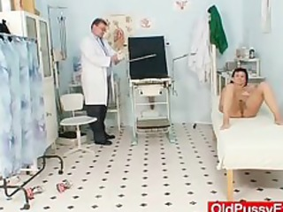 desperate lady valentina rush kitty exam with