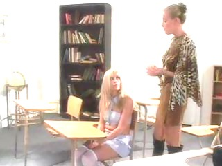 cheerleaders spanked - scene 1