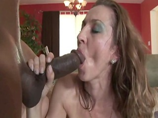 fresh lady having interracial porn at house