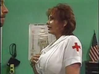 older  doctor pierced inside hospital