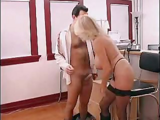 naughty older  secretary acquires drilled in