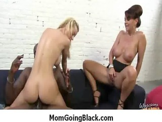 lady own dark cock into her taut cougar pussy 16