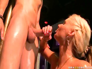 super wonderful exposed blonde angel into the