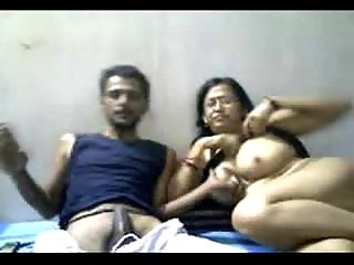 indian cougar duo mr and mrs gupta into webcam