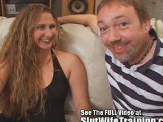 brandis anniversary whore lady training cum video!