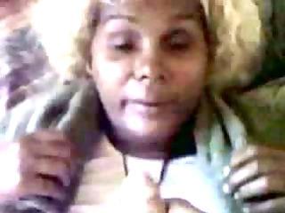 ebony older  obtains a huge facial