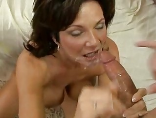 desperate woman deauxma receives a young filling