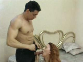 cougar woman from spain licks inexperienced dick