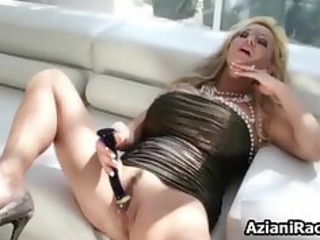 pale grown-up mom with her huge part6