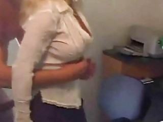 mature awesome assistant swallow sperm