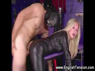 woman rules over subject into the playroom