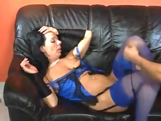 cougar sweet fucks and licks after that swallows