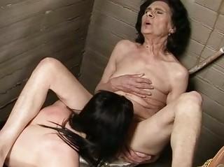 so elderly old inside homosexual woman porn
